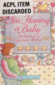 Cover of: I'm having a baby | Ellen Sue Stern
